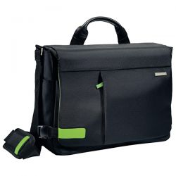 "BORSA MESSENGER SMART TRAVELLER per PC 15,6"" Leitz Complete"