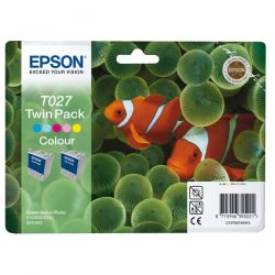 TWINPACK T027 2CART.COLORE (2X T027401) BLISTER RS